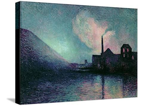 Couillet by Night, 1896-Maximilien Luce-Stretched Canvas Print