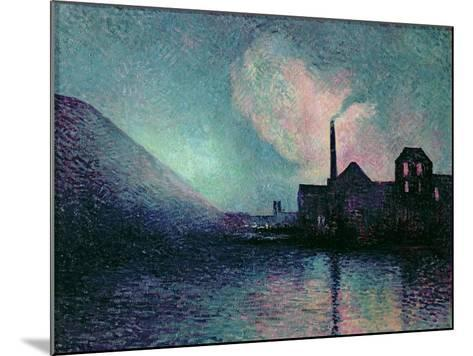 Couillet by Night, 1896-Maximilien Luce-Mounted Giclee Print