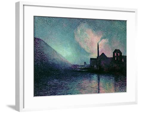 Couillet by Night, 1896-Maximilien Luce-Framed Art Print