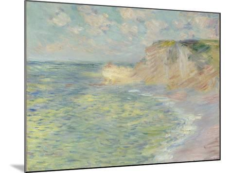 The Cliff Above, 1885-Claude Monet-Mounted Giclee Print