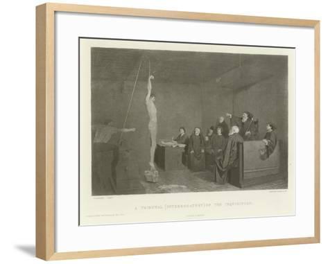 A Tribunal--Framed Art Print