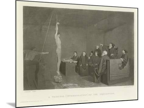 A Tribunal--Mounted Giclee Print