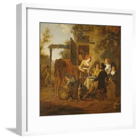 Country Snack-Jean Louis De Marne-Framed Art Print
