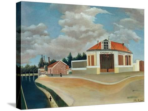 The Chair Factory at Alfortville, C.1897-Henri Rousseau-Stretched Canvas Print