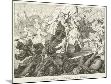 Charles Martel Defeats the Moors--Mounted Giclee Print