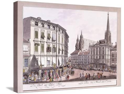 Stock-Im-Eisen-Platz, 1779-1792--Stretched Canvas Print
