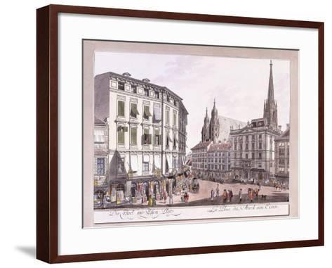 Stock-Im-Eisen-Platz, 1779-1792--Framed Art Print