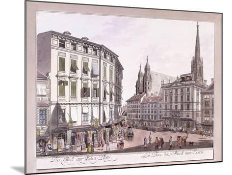 Stock-Im-Eisen-Platz, 1779-1792--Mounted Giclee Print