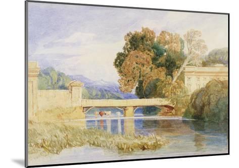 Chateau Navarre, Near Evreux, Normandy-John Sell Cotman-Mounted Giclee Print