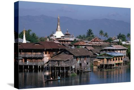Inle Lake, Shan State, Myanmar--Stretched Canvas Print