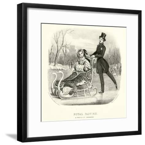 Royal Pastime--Framed Art Print