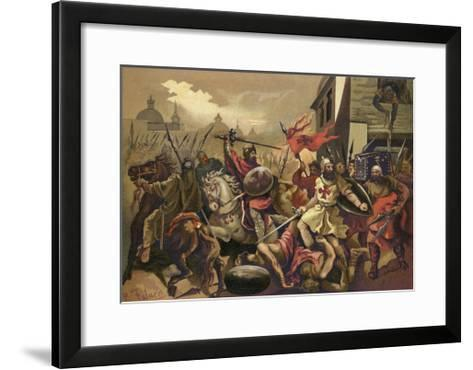 The Crusades--Framed Art Print