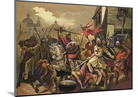 The Crusades--Mounted Giclee Print