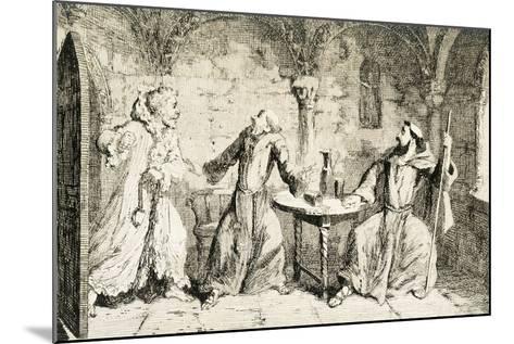 Ivanhoe, Historical Novel by Sir Walter Scott--Mounted Giclee Print
