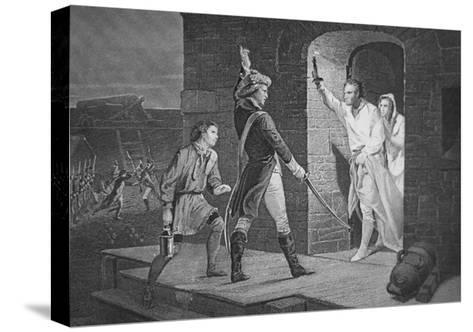 The Capture of Fort Ticonderoga, 10 May 1775--Stretched Canvas Print