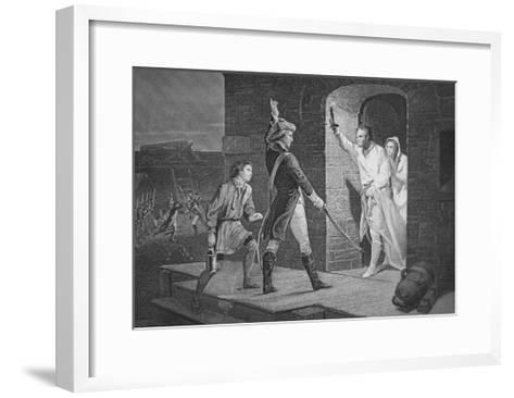 The Capture of Fort Ticonderoga, 10 May 1775--Framed Art Print