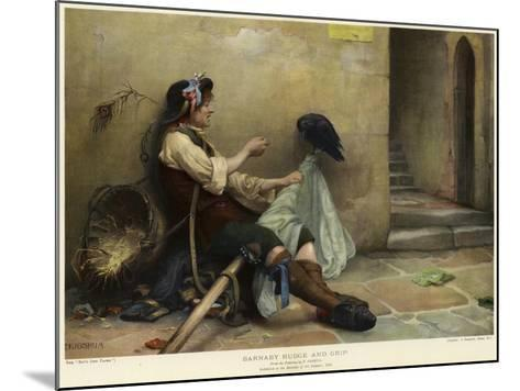 Barnaby Rudge and Grip, 1906-Nellie Joshua-Mounted Giclee Print