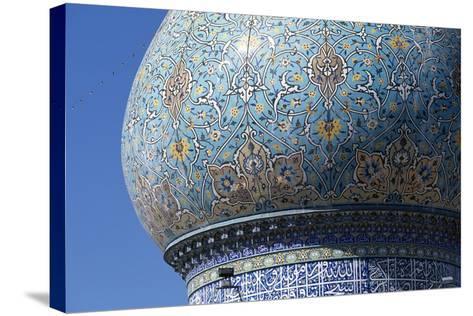 Dome of Shah-E-Cheragh Mausoleum--Stretched Canvas Print