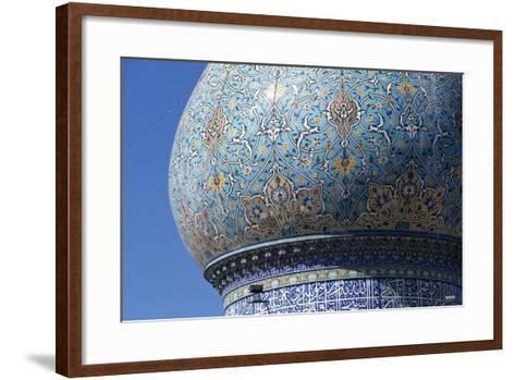 Dome of Shah-E-Cheragh Mausoleum--Framed Art Print