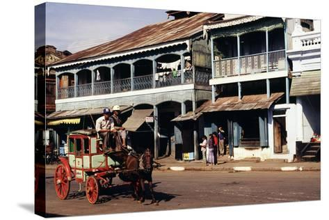 Street Scene, Mamyo, Myanmar--Stretched Canvas Print