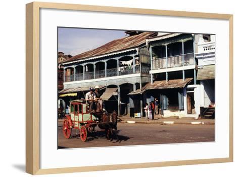 Street Scene, Mamyo, Myanmar--Framed Art Print