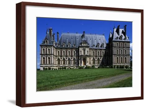 Villersexel Castle--Framed Art Print