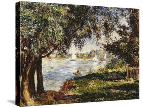Bougival, 1888-Pierre-Auguste Renoir-Stretched Canvas Print