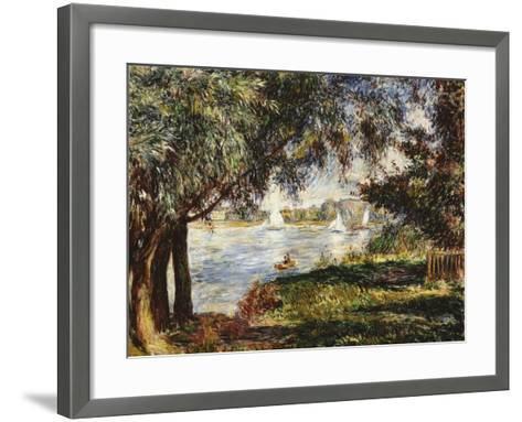 Bougival, 1888-Pierre-Auguste Renoir-Framed Art Print