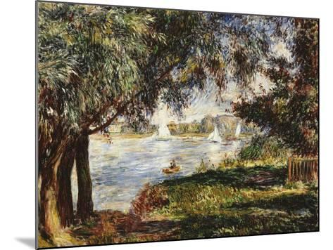 Bougival, 1888-Pierre-Auguste Renoir-Mounted Giclee Print