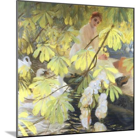 Under the Tree-Gaston De Latouche-Mounted Giclee Print