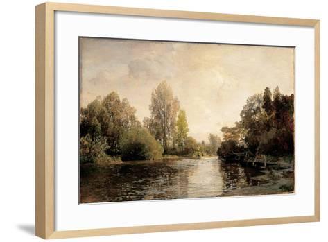 A View from Plankenberg, 1887-Emil Jakob Schindler-Framed Art Print