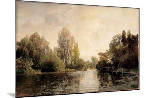 A View from Plankenberg, 1887-Emil Jakob Schindler-Mounted Giclee Print