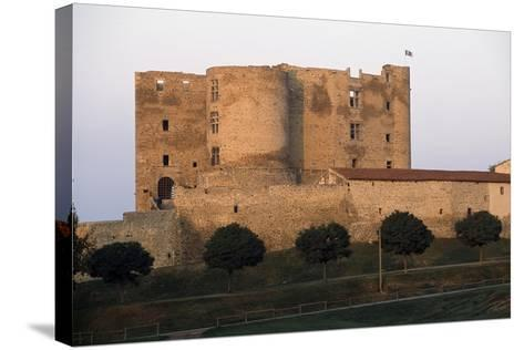 Montrond-Les-Bains Castle--Stretched Canvas Print
