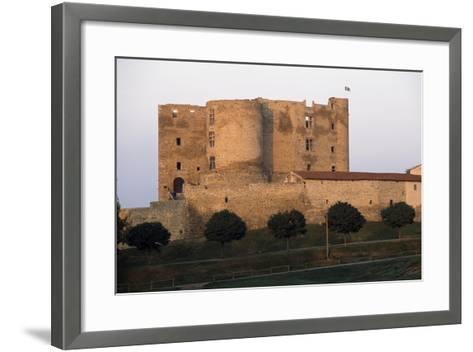Montrond-Les-Bains Castle--Framed Art Print
