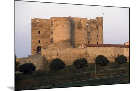 Montrond-Les-Bains Castle--Mounted Giclee Print