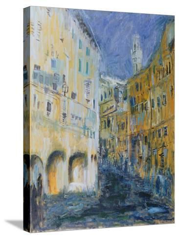 An Alleyway in Florence, 1995-Patricia Espir-Stretched Canvas Print