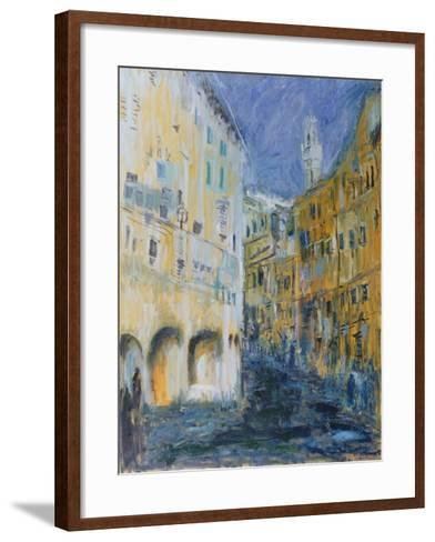An Alleyway in Florence, 1995-Patricia Espir-Framed Art Print