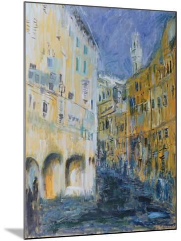 An Alleyway in Florence, 1995-Patricia Espir-Mounted Giclee Print