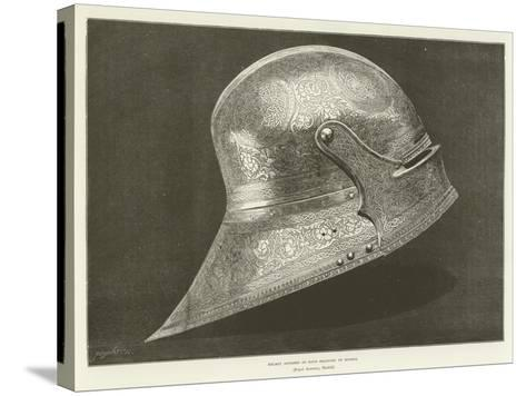 Helmet Supposed to Have Belonged to Boabdil--Stretched Canvas Print
