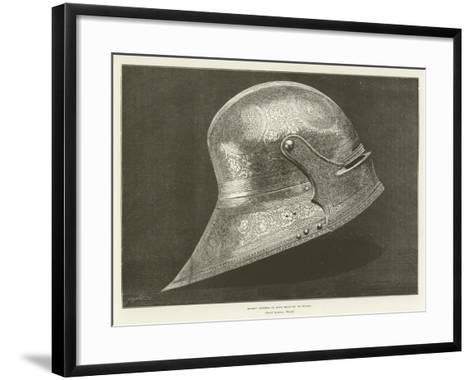 Helmet Supposed to Have Belonged to Boabdil--Framed Art Print
