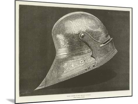 Helmet Supposed to Have Belonged to Boabdil--Mounted Giclee Print