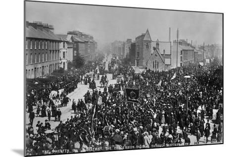 12th July, Belfast, Ireland, 1888-Robert John Welch-Mounted Giclee Print