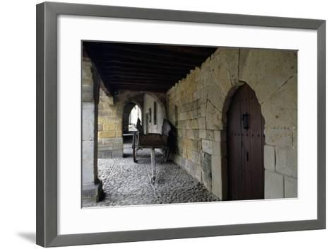 Portico of Aguila House--Framed Art Print