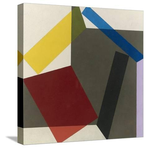 Sidefold V, 1985-Michael Canney-Stretched Canvas Print