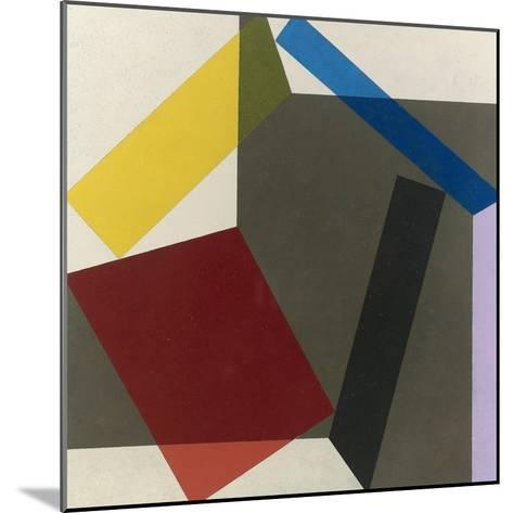 Sidefold V, 1985-Michael Canney-Mounted Giclee Print