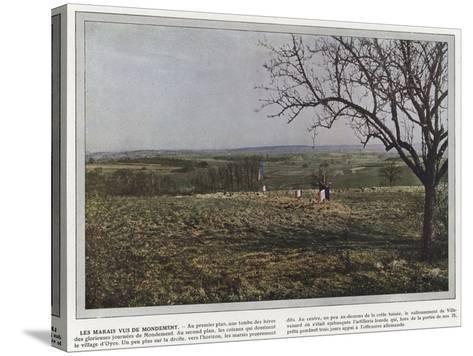 Les Marais Vus De Mondement-Jules Gervais-Courtellemont-Stretched Canvas Print