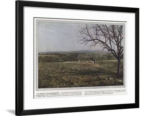 Les Marais Vus De Mondement-Jules Gervais-Courtellemont-Framed Art Print