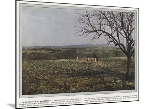 Les Marais Vus De Mondement-Jules Gervais-Courtellemont-Mounted Photographic Print
