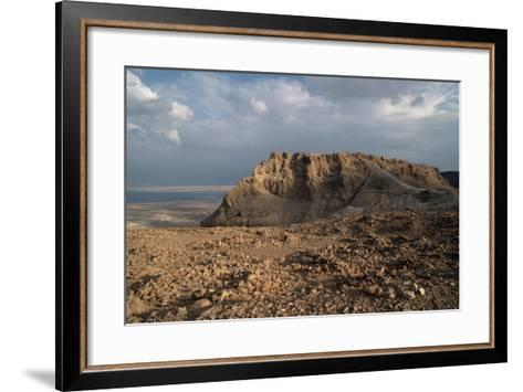 View of Masada--Framed Art Print