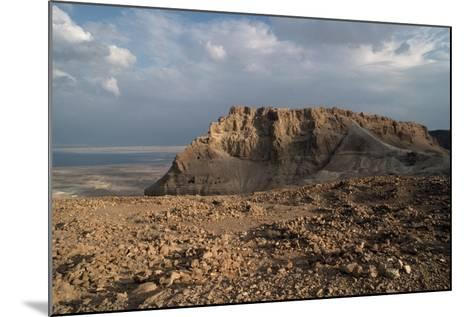 View of Masada--Mounted Photographic Print